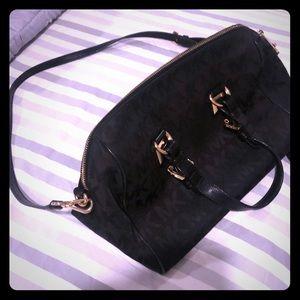 Authentic Black Michael Kors Shoulder Bag Purse